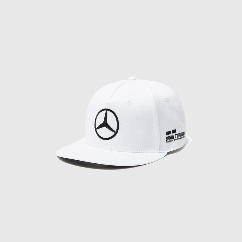 MAPM RP DRIVERS CAP HAMILTON (FLATBRIM) - white