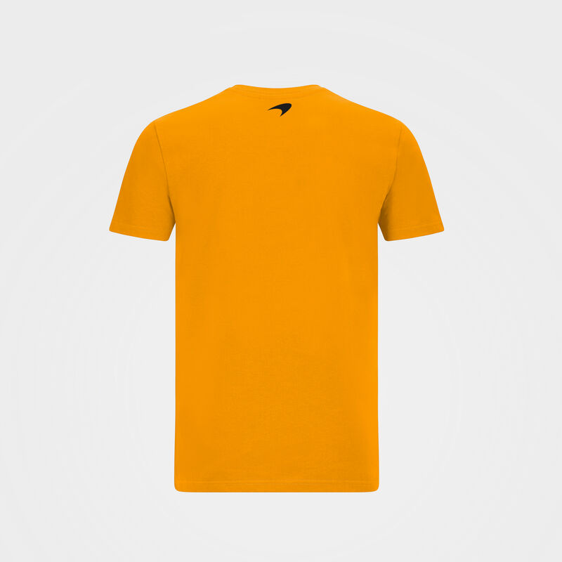 MCLAREN FW MENS ESSENTIALS TEE - orange