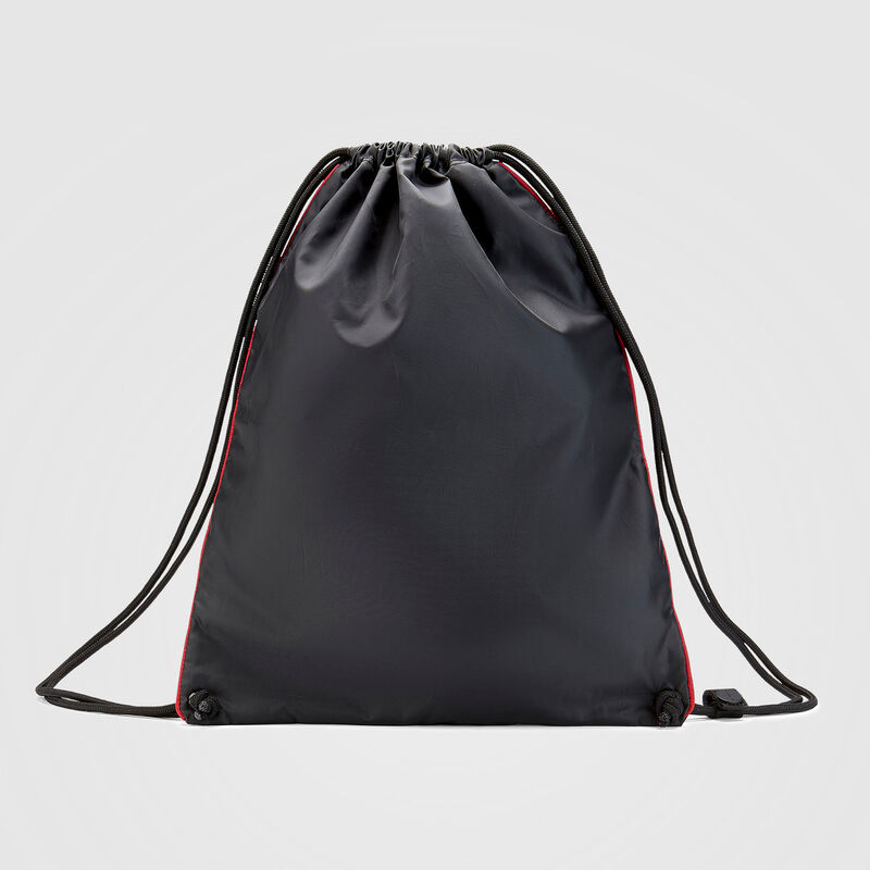 PORSCHE FW PULL BAG - black