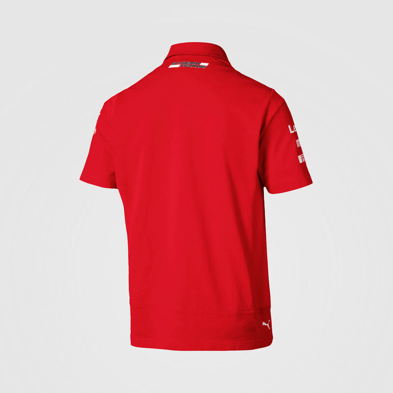 SF RP MENS NMWN TEAM POLO - red