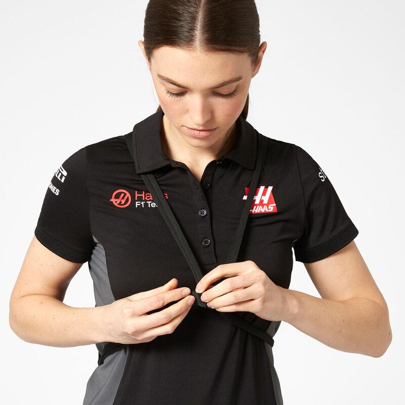 HAAS F1 FW PULL BAG - black