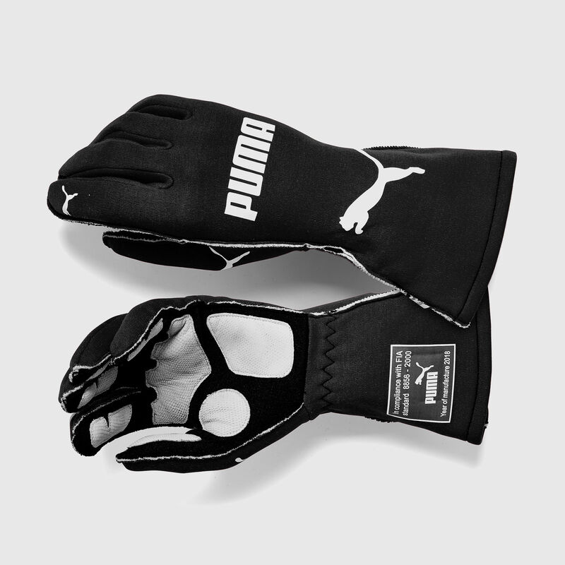 PU RW AVANTI FIA GLOVES - black
