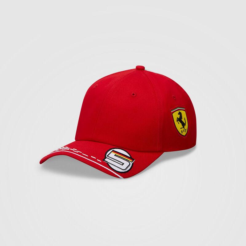 SF RP VETTEL BB CAP - red