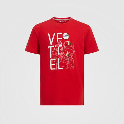 Sebastian Vettel Kids Driver Fan T-Shirt