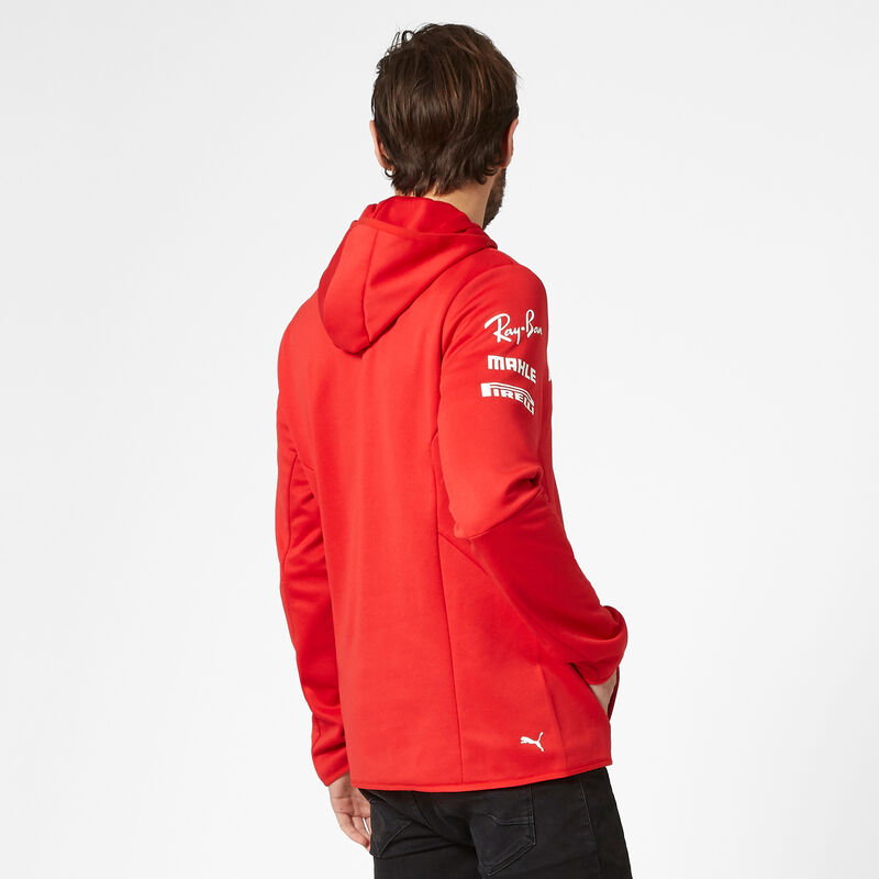 SF RP MENS TEAM TECH FLEECE - red