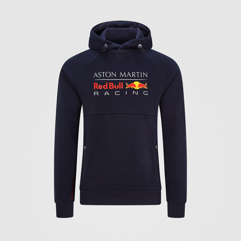 AMRBR FW HOODED SWEAT - navy