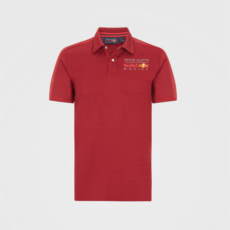AMRBR FW MENS SEASONAL POLO - red