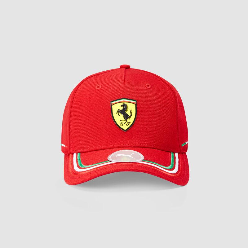 SF PU FW ITALIAN CAP - red
