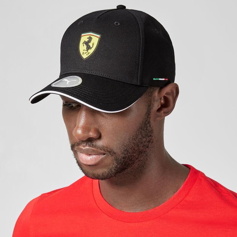 SF PU  FW CLASSIC CAP - black