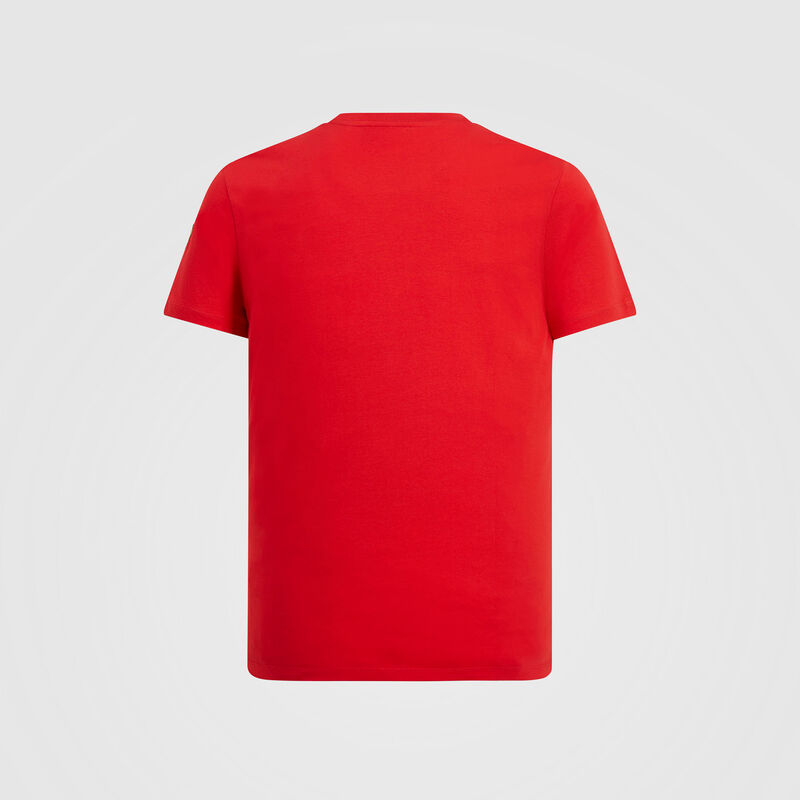 SF FW MENS SCUDERIA LOGO TEE - red