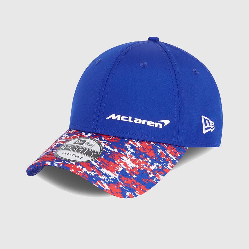 MCLAREN LN SILV SE 9FORTY CAP CAB - blue