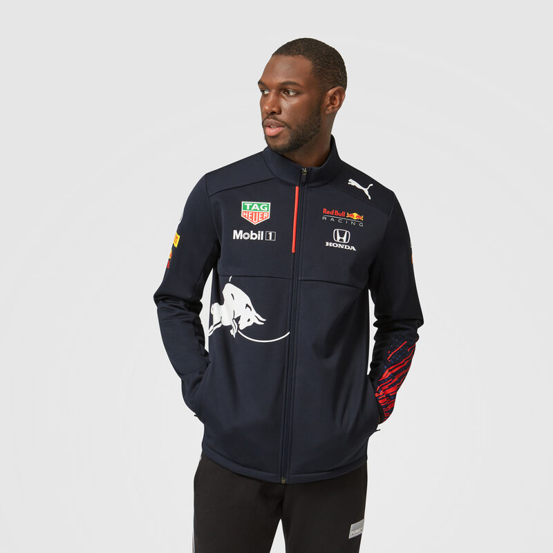 RBR RP MENS TEAM SOFTSHELL JACKET - navy