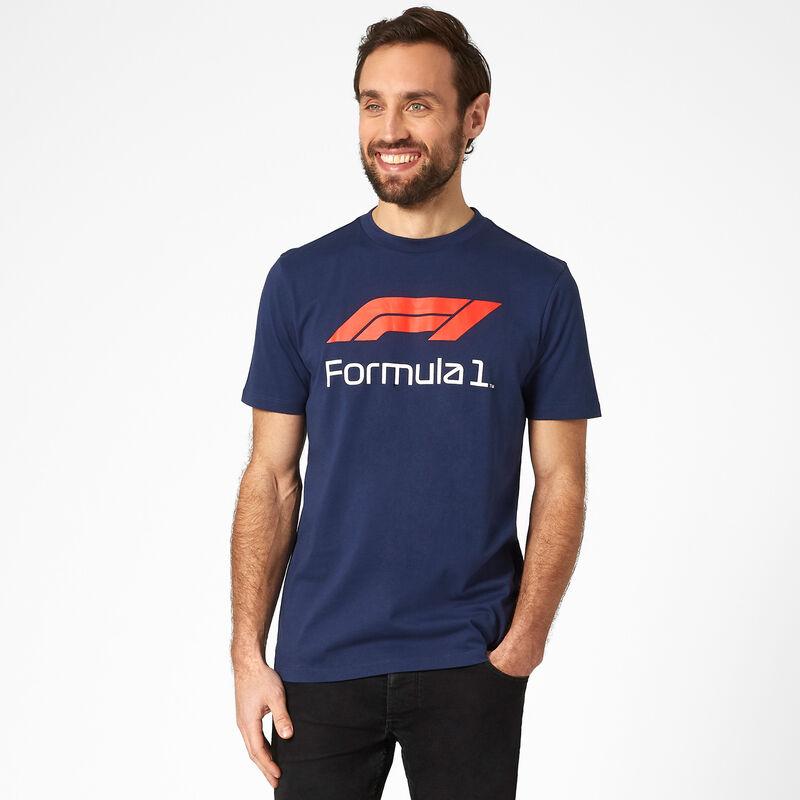 F1 FW MENS NO 1 TEE - navy