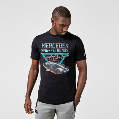 T-shirt grafica monoposto