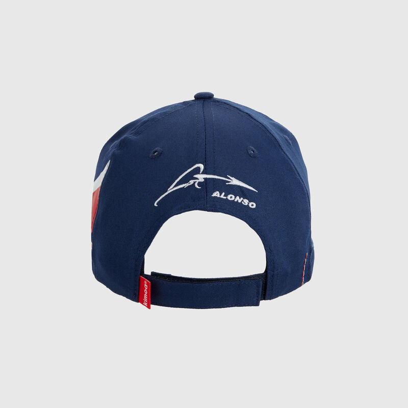 RENAULT SL ALONSO ALPINE CAP SB - blue | red