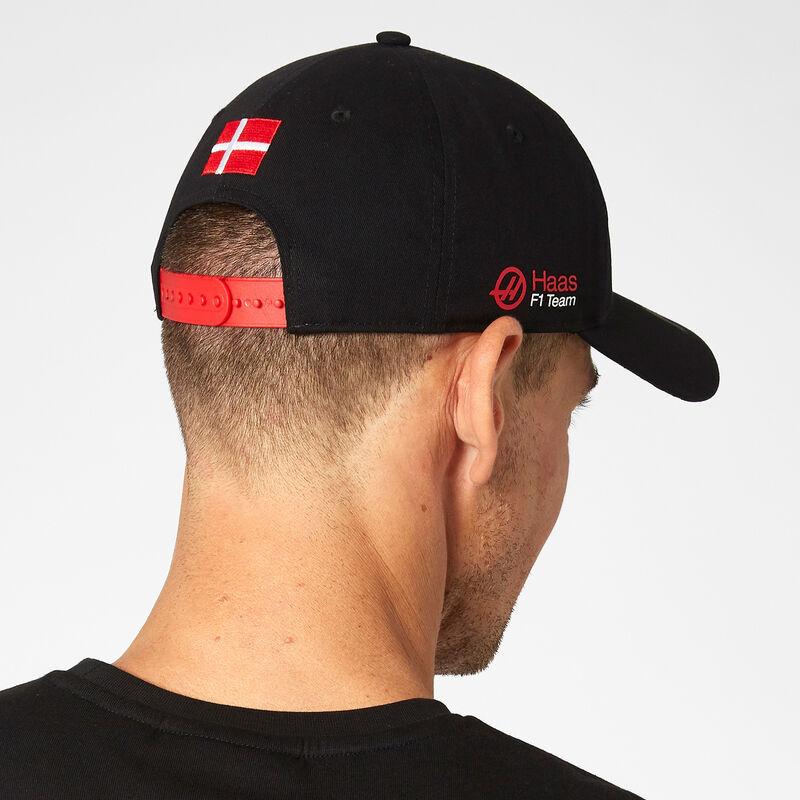 HAAS F1  FW MAG DRIVER CAP - black