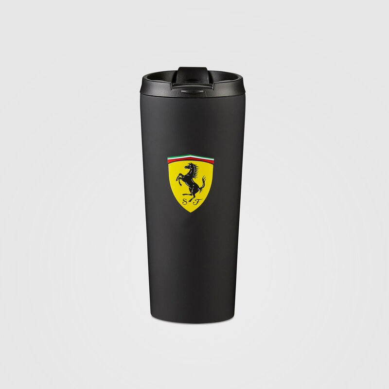 SF FW MATTE THERMAL MUG - black