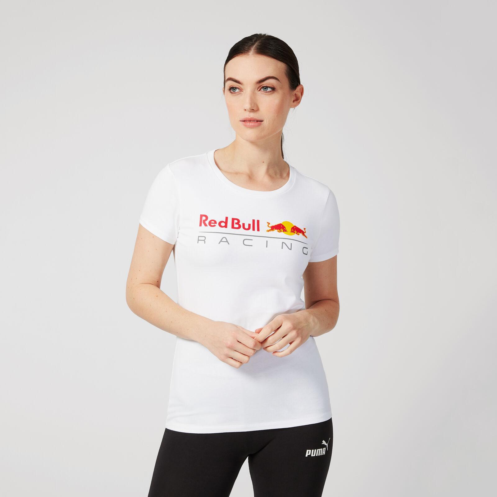 Logo T Shirt Für Damen Groß Aston Martin Red Bull Racing Fuel For Fans