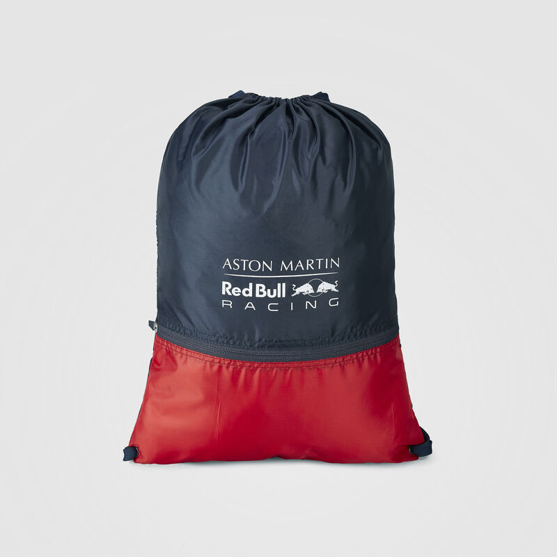 AMRBR FW DRAWSTRING BAG - navy