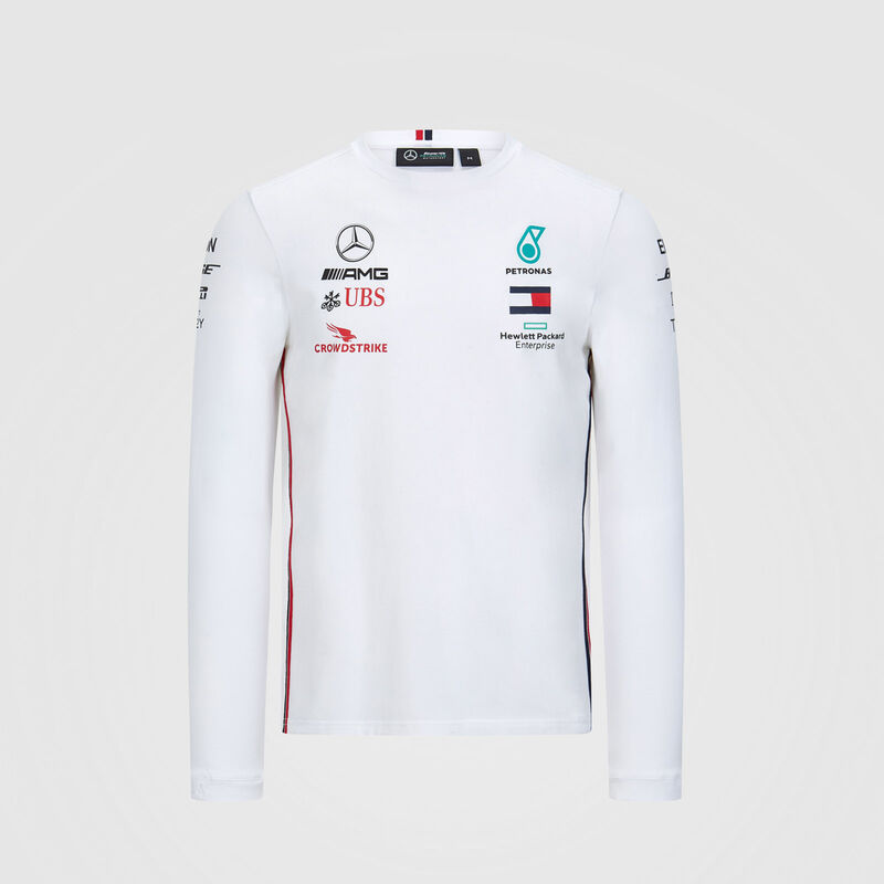 MAPM RP MENS LS DRIVER TEE  - white