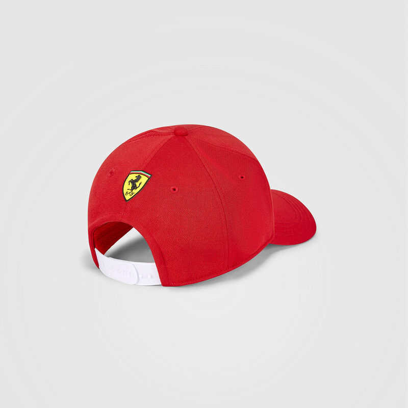 SF FW KIDS SCUDERIA LOGO BB CAP - red