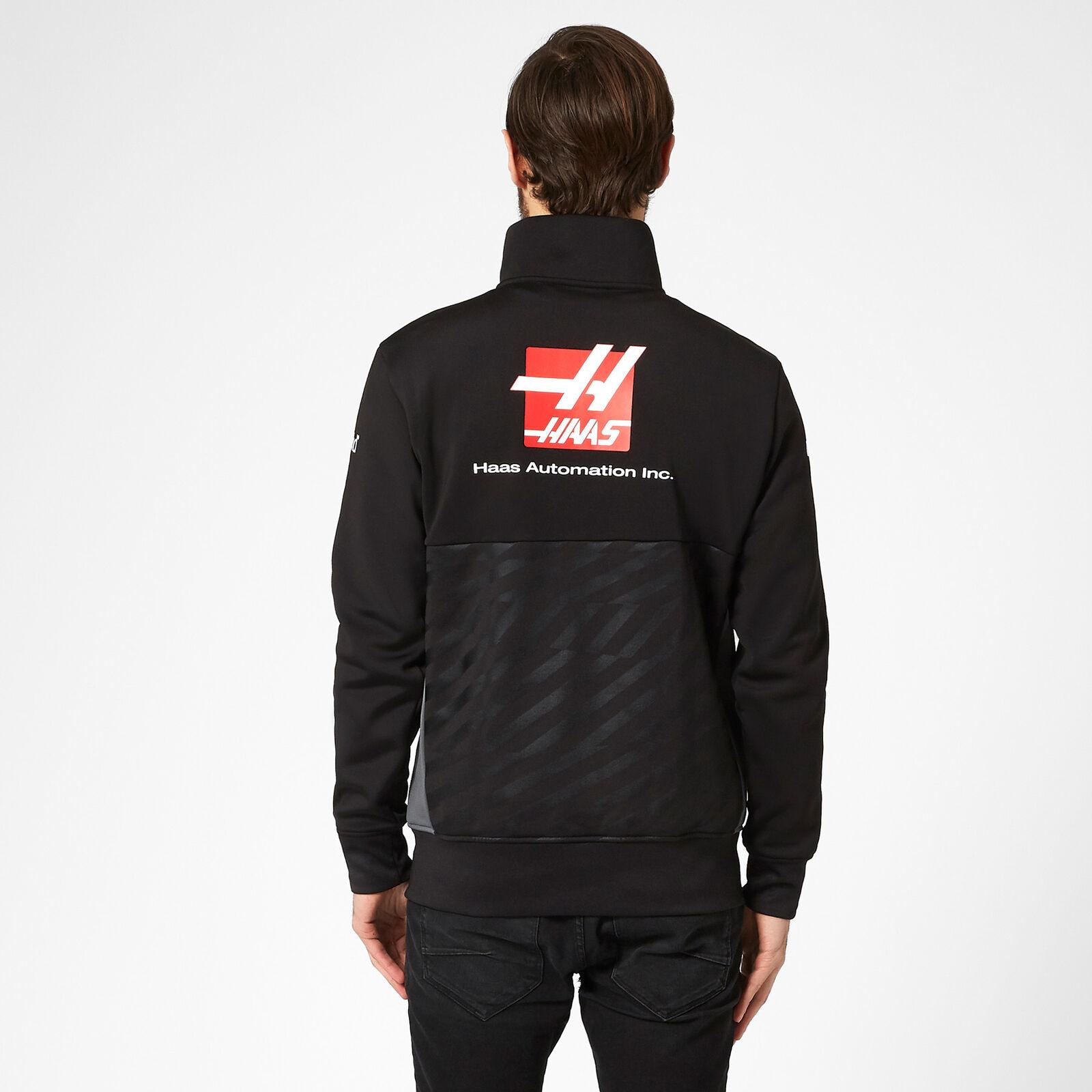 Fuel For Fans Unisex Formula 1 Haas F1 Team Pullstring Bag Black One Size
