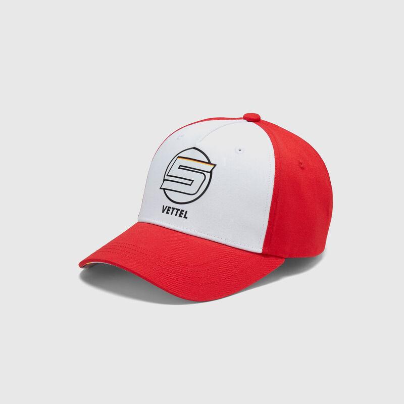 SF FW VETTEL BASEBALL CAP  - Multicolor