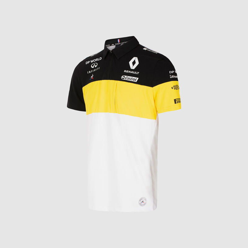 RENAULT RP MENS TEAM POLO - white
