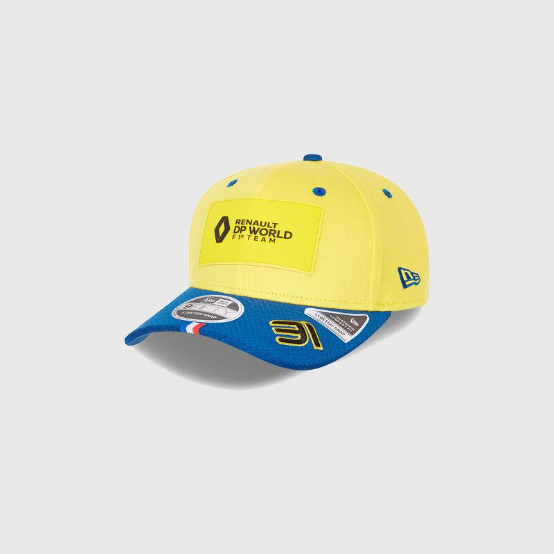 RENAULT RP DRIVER OCON 31 950 SS BB CAP - yellow