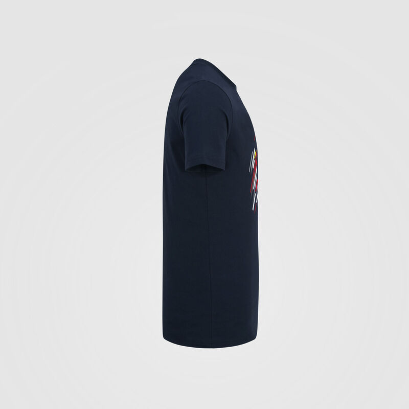 AMRBR FW MENS GASLY NUMBER TEE - navy