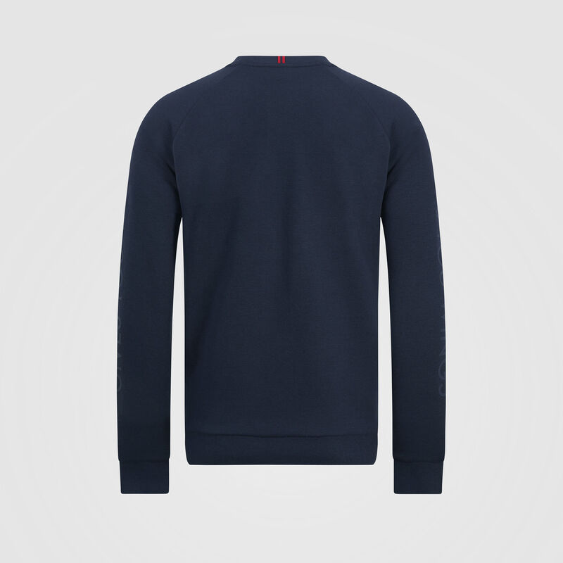AMRBR FW MENS CREW NECK SWEAT SHIRT   - navy