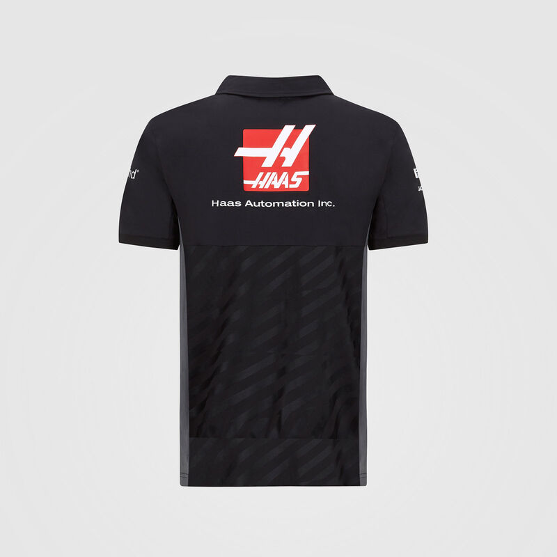 HAAS F1 RP MENS TEAM POLO - black