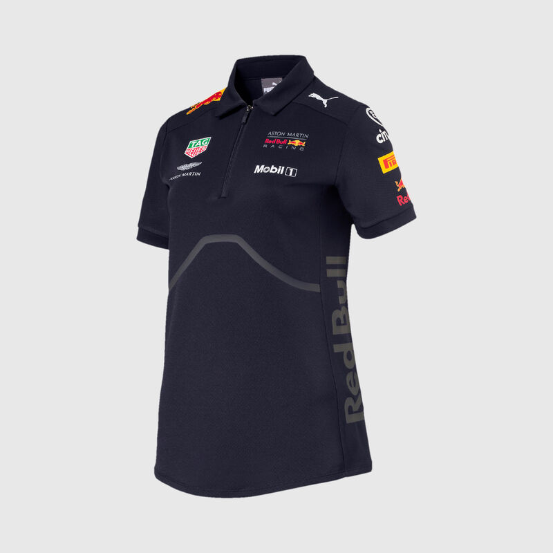 RBR RP WOMENS TEAM POLO - navy