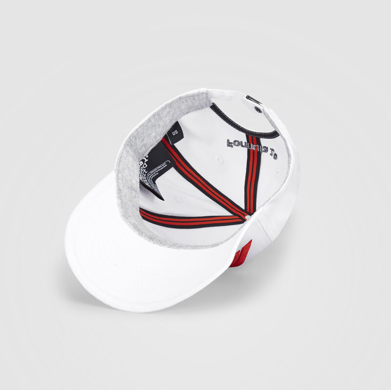 F1 FW LARGE LOGO BASEBALL CAP - white