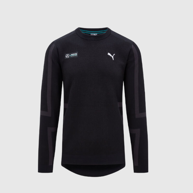 MAPM PU LS MENS EVO KNIT MIDLAYER - black