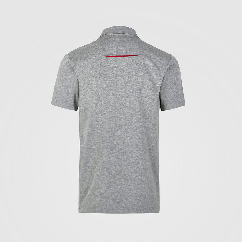 PORSCHE FW MENS POLO - grey