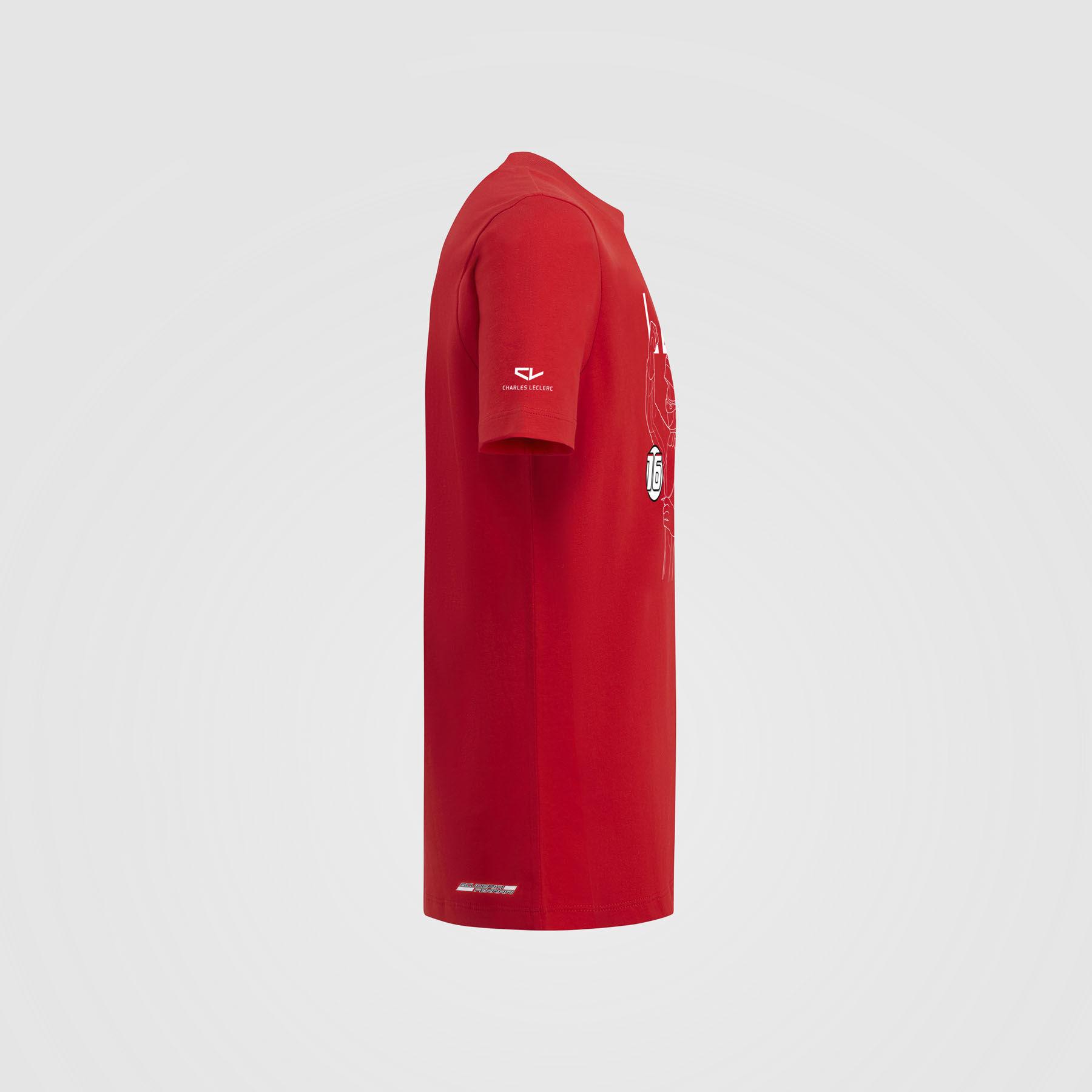 Scuderia Ferrari 2019 Kid/'s Team T-Shirt Red