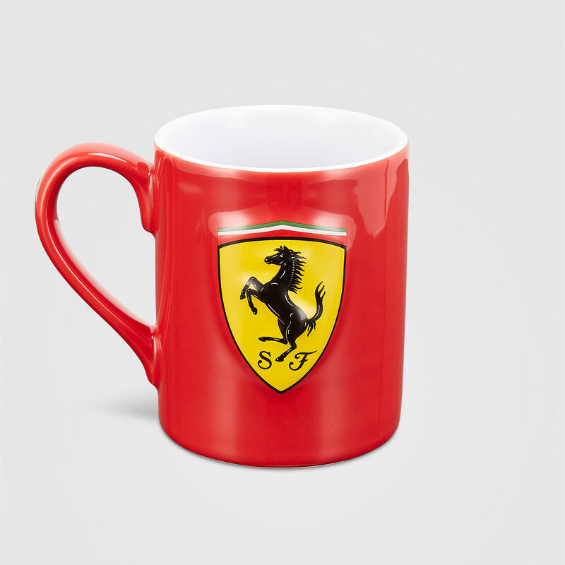 SF FW SCUDETTO SHIELD MUG - red
