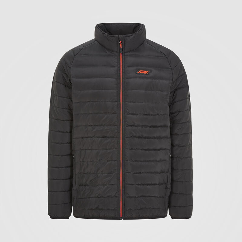F1 FW TECH PADDED JACKET - black