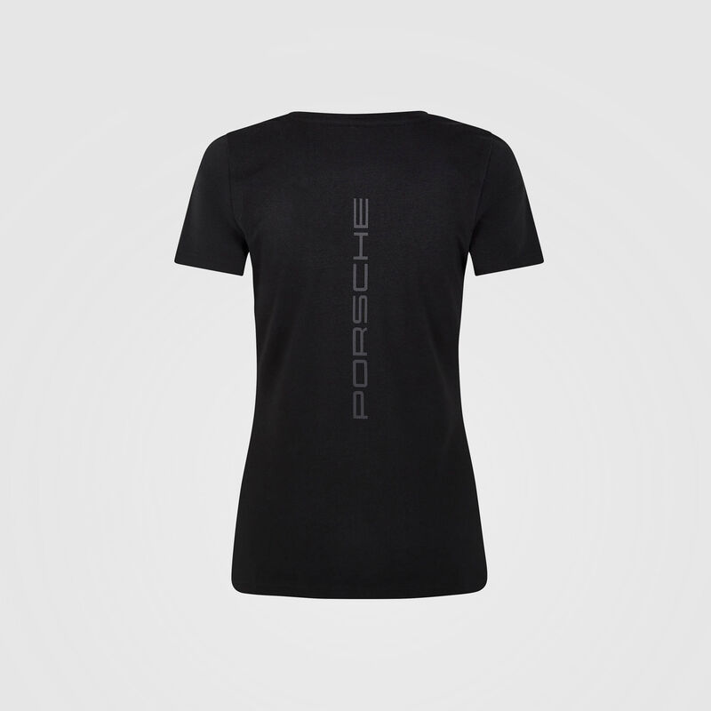 PORSCHE FW WOMENS TEE - black
