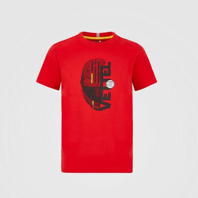 T-shirt de supporter du pilote Sebastian Vettel pour enfant