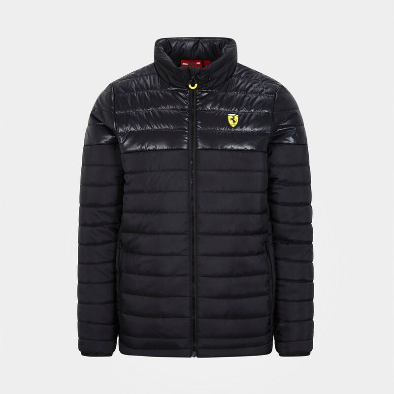 SF FW MENS PADDED JACKET - black
