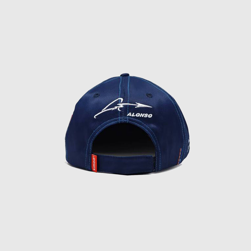 RENAULT SL ALONSO ALPINE CAP T - blue | red