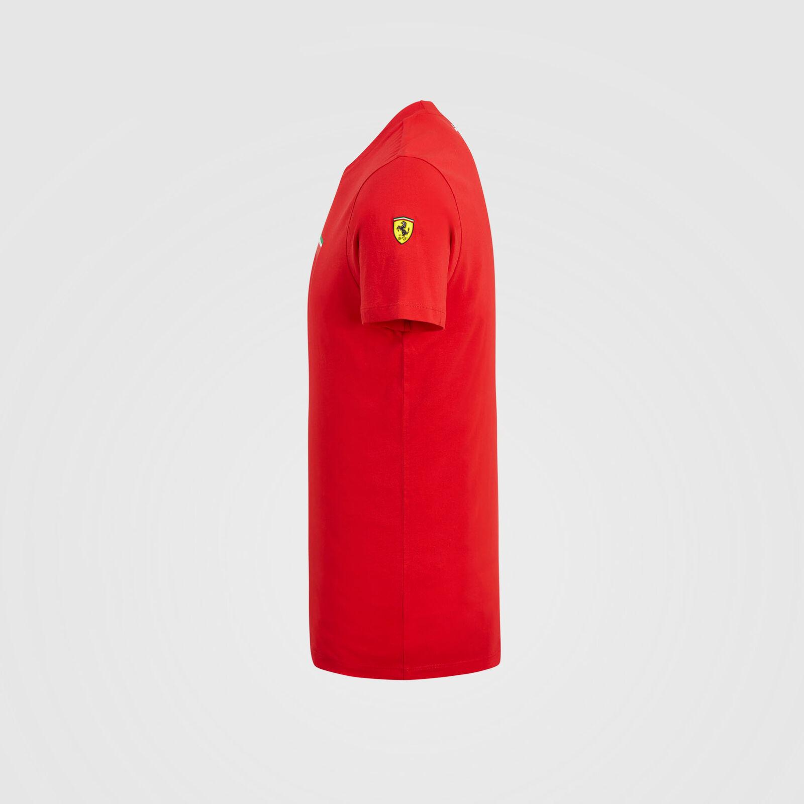 Scuderia Ferrari F1 Mono Shield Tee Men/'s Rouge livraison gratuite au R-U