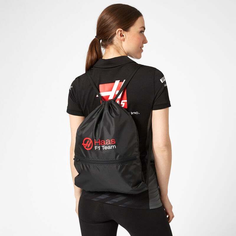 HAAS F1 FW PULL BAG - black
