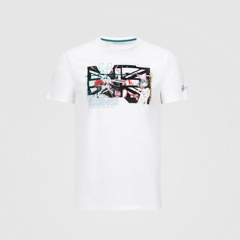 MAPM FW MENS LEWIS GRAPHIC TEE - white