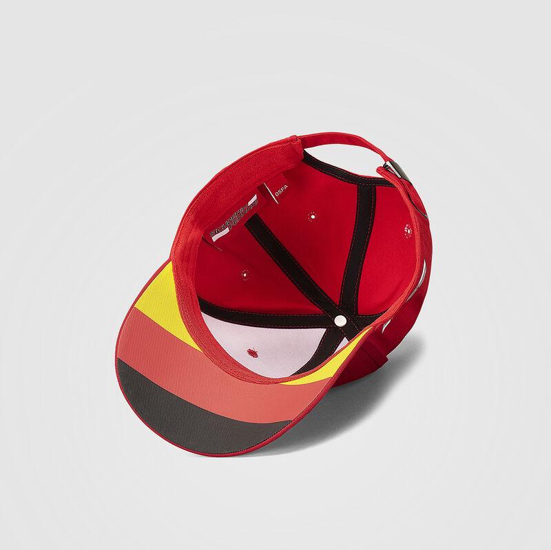 SF FW VETTEL BASEBALL CAP - red