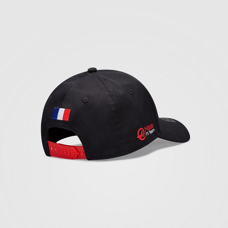 HAAS F1 FW GR DRIVER CAP - black