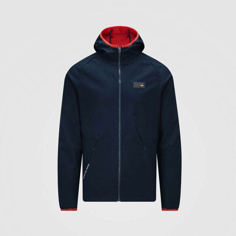 AMRBR FW MEN SOFT SHELL JACKET - navy