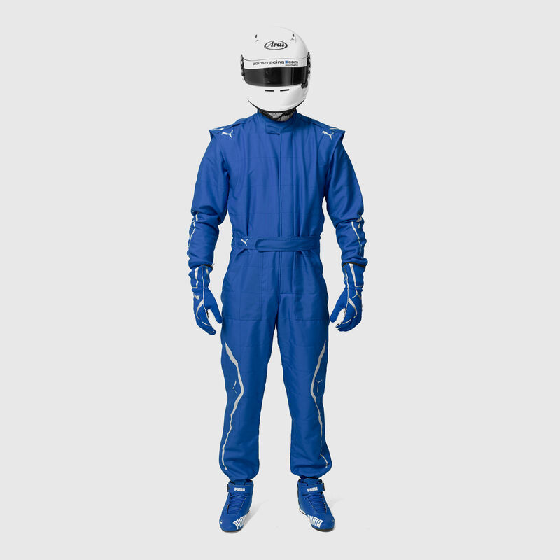 PU RW UNISEX KART CAT II SUIT - blue